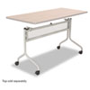 Impromptu Mobile Training Table Base, 49-1/4w x 24d x 28h, Silver
