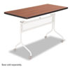 Impromptu Mobile Training Table Top, Rectangular, 48w x 24d, Cherry