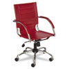 Safco® Flaunt™ Series Mid-Back Manager`s Chair