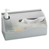 Countertop Hygiene Station, Silver, 11 1/2 x 5 x 5 1/2