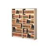 Snap-Together Open Shelving Steel 7-Shelf Closed Add-On Unit, 48 x 12 x 88, Sand
